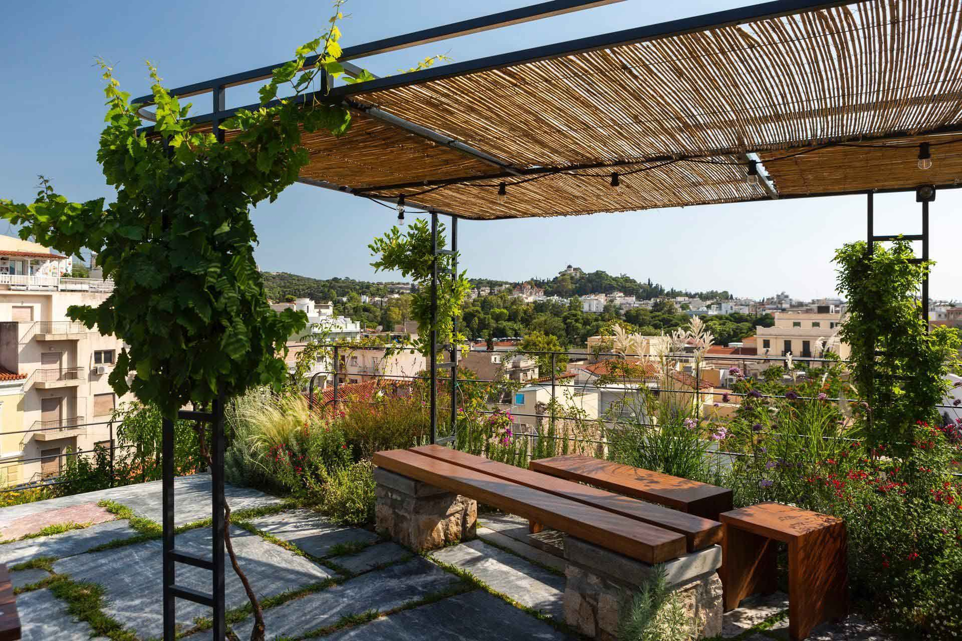 hotel in athens with rooftop