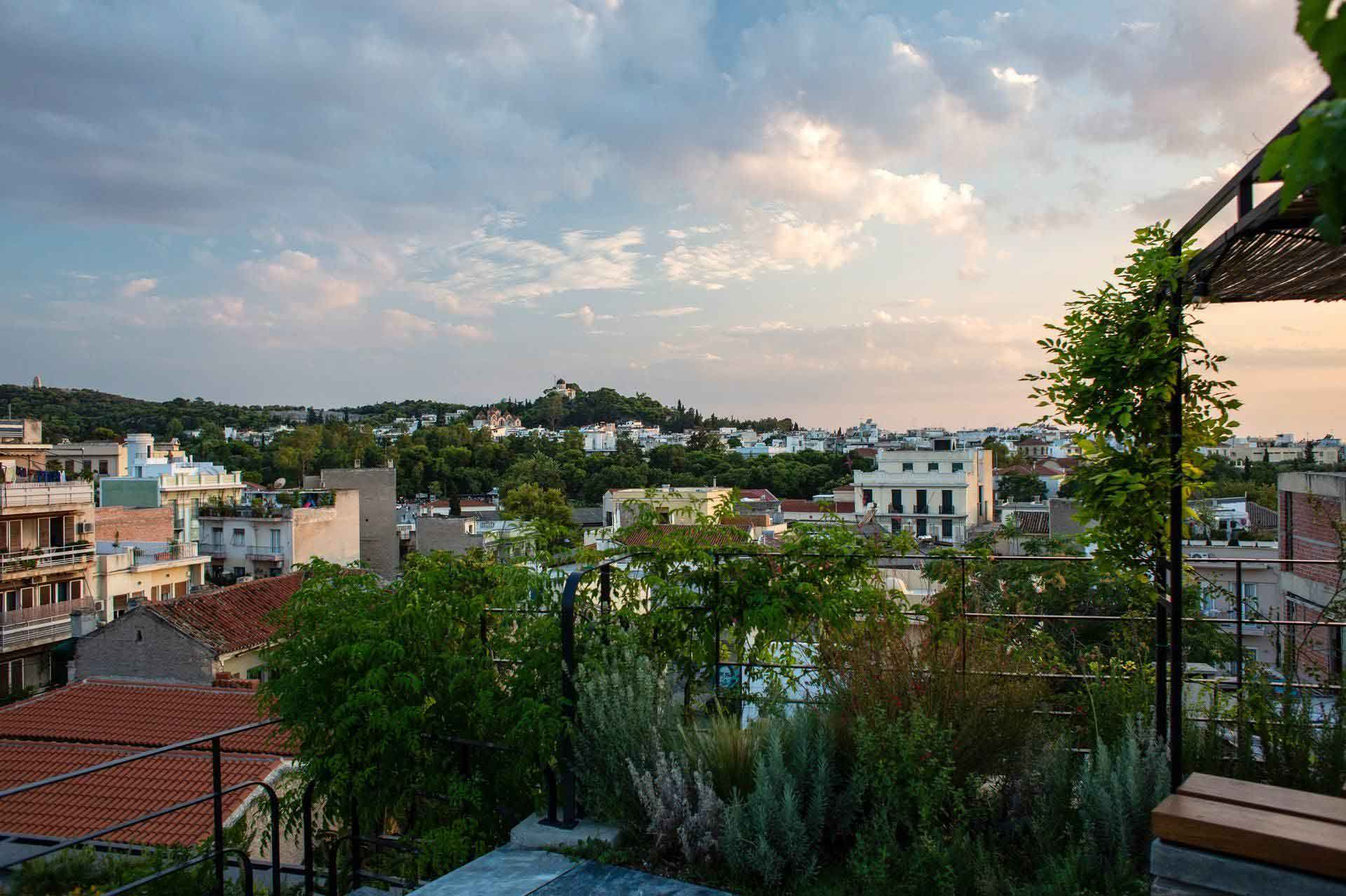 eco friendly rooftops athens